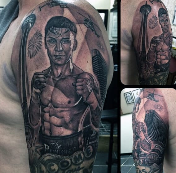 Boxing Tattoos 153