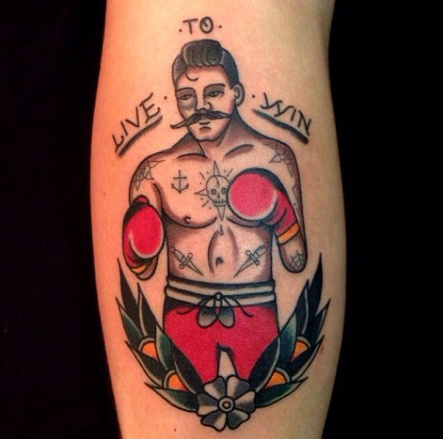Boxing Tattoos 2