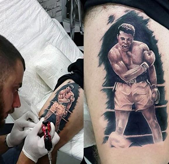 Boxing Tattoos 32