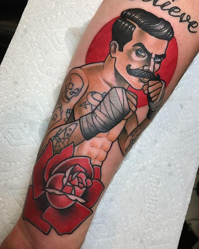 Boxing Tattoos 4