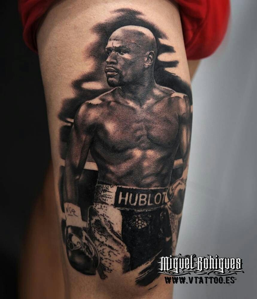 Boxing Tattoos 42