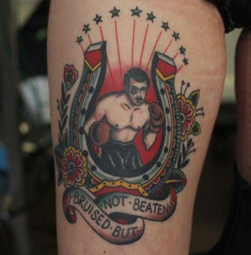 Boxing Tattoos 48