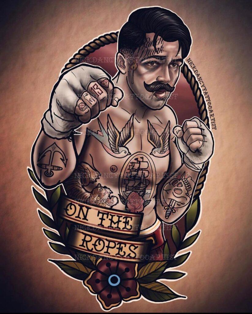 Boxing Tattoos 49