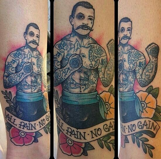 Boxing Tattoos 55