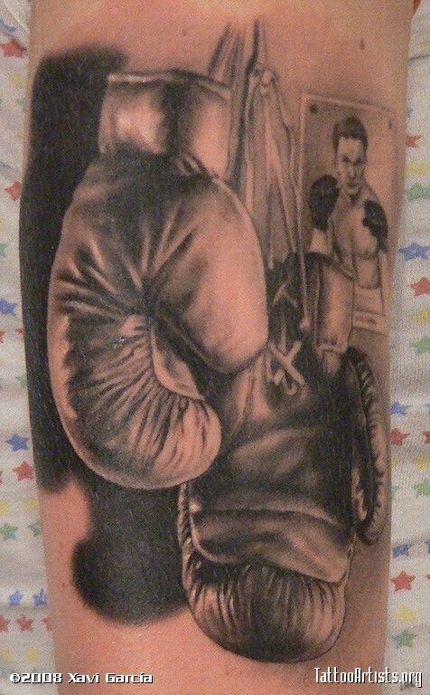 Boxing Tattoos 59