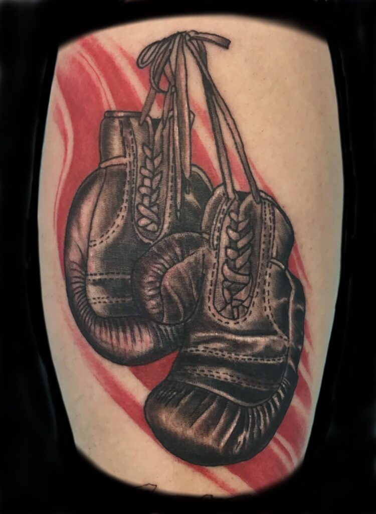 Boxing Tattoos 6