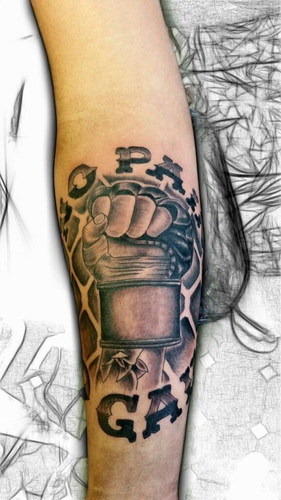 Boxing Tattoos 62