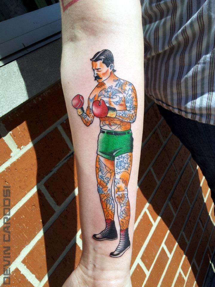 Boxing Tattoos 67