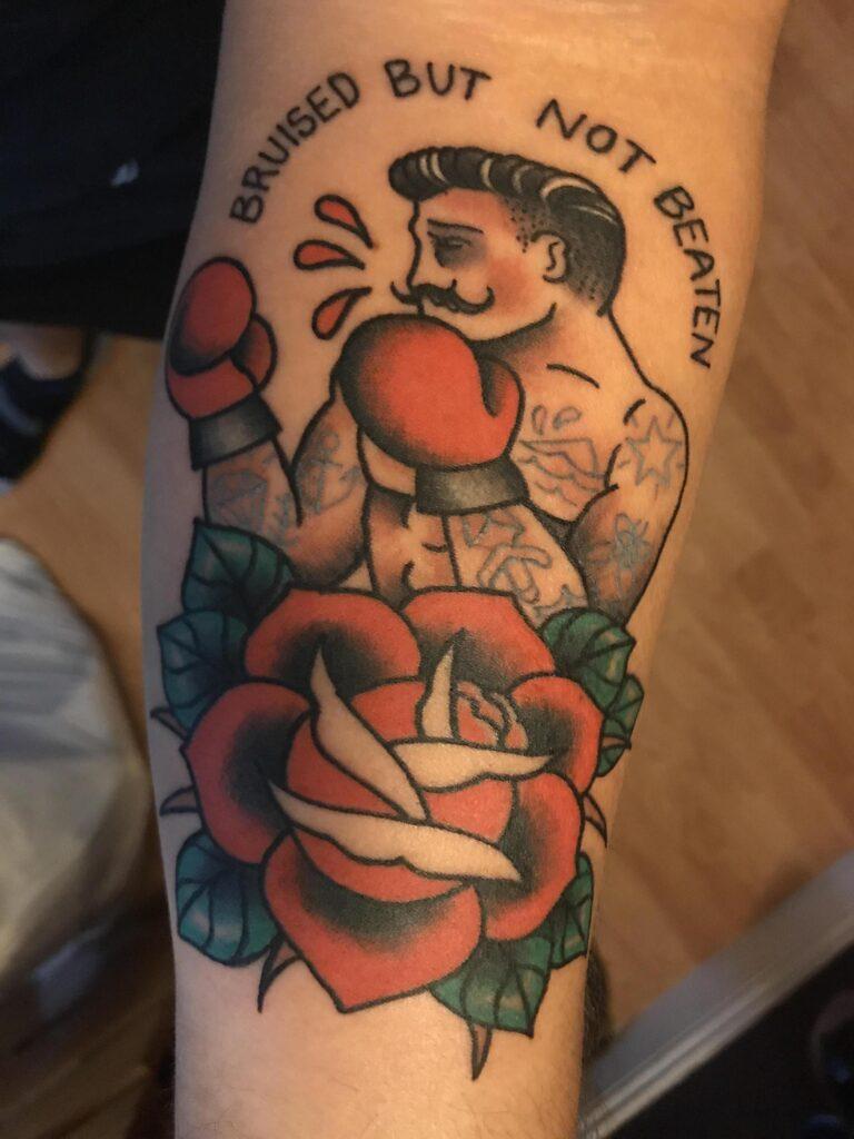 Boxing Tattoos 74