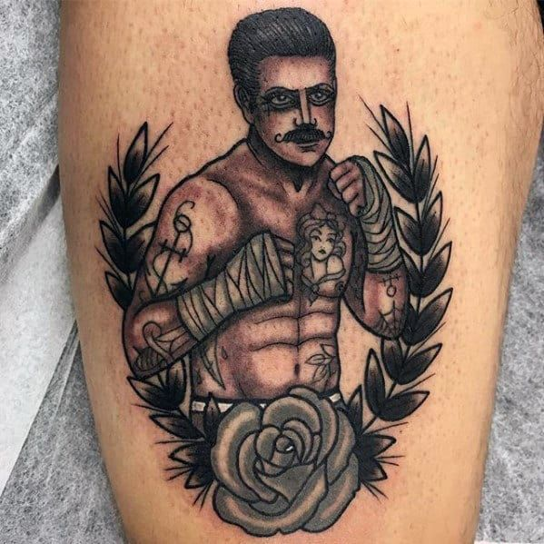 Boxing Tattoos 9