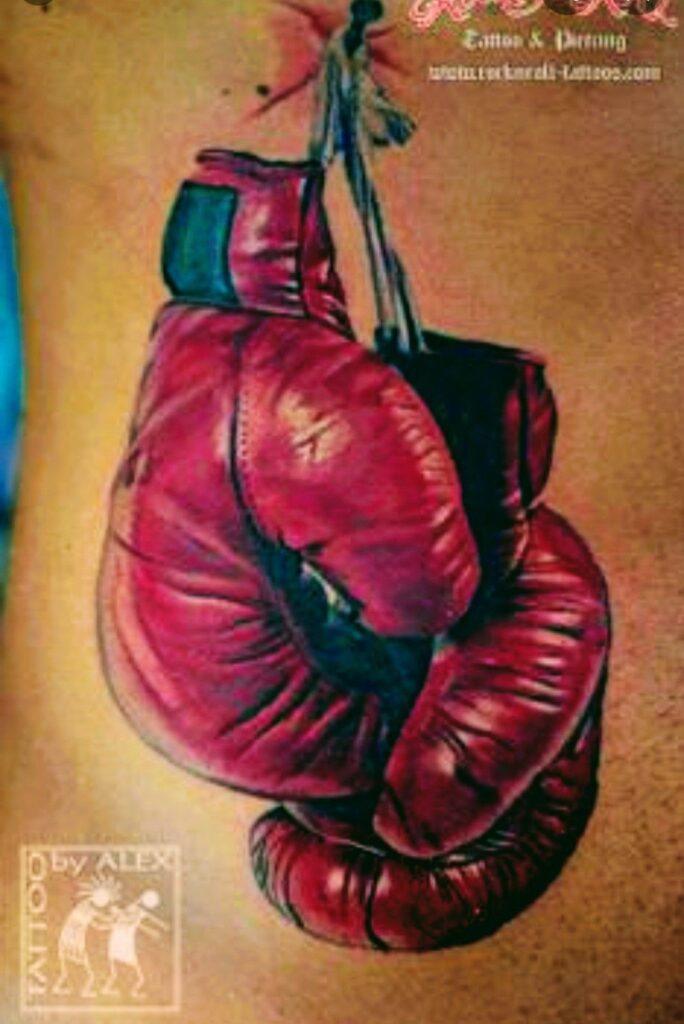 Boxing Tattoos 91