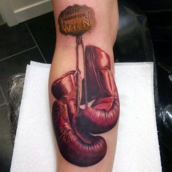Boxing Tattoos 93