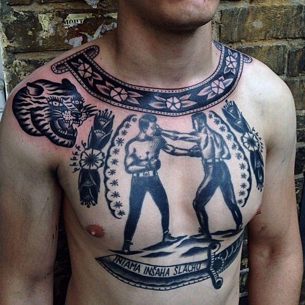 Boxing Tattoos 95