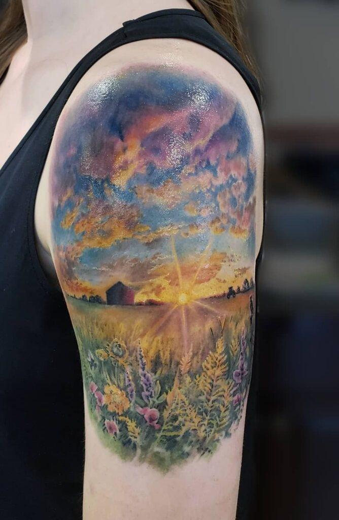 Cloud Tattoos 11