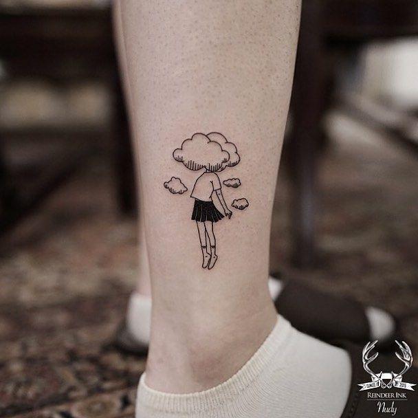 Cloud Tattoos 18