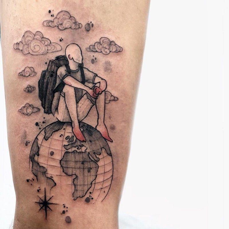 Cloud Tattoos 23