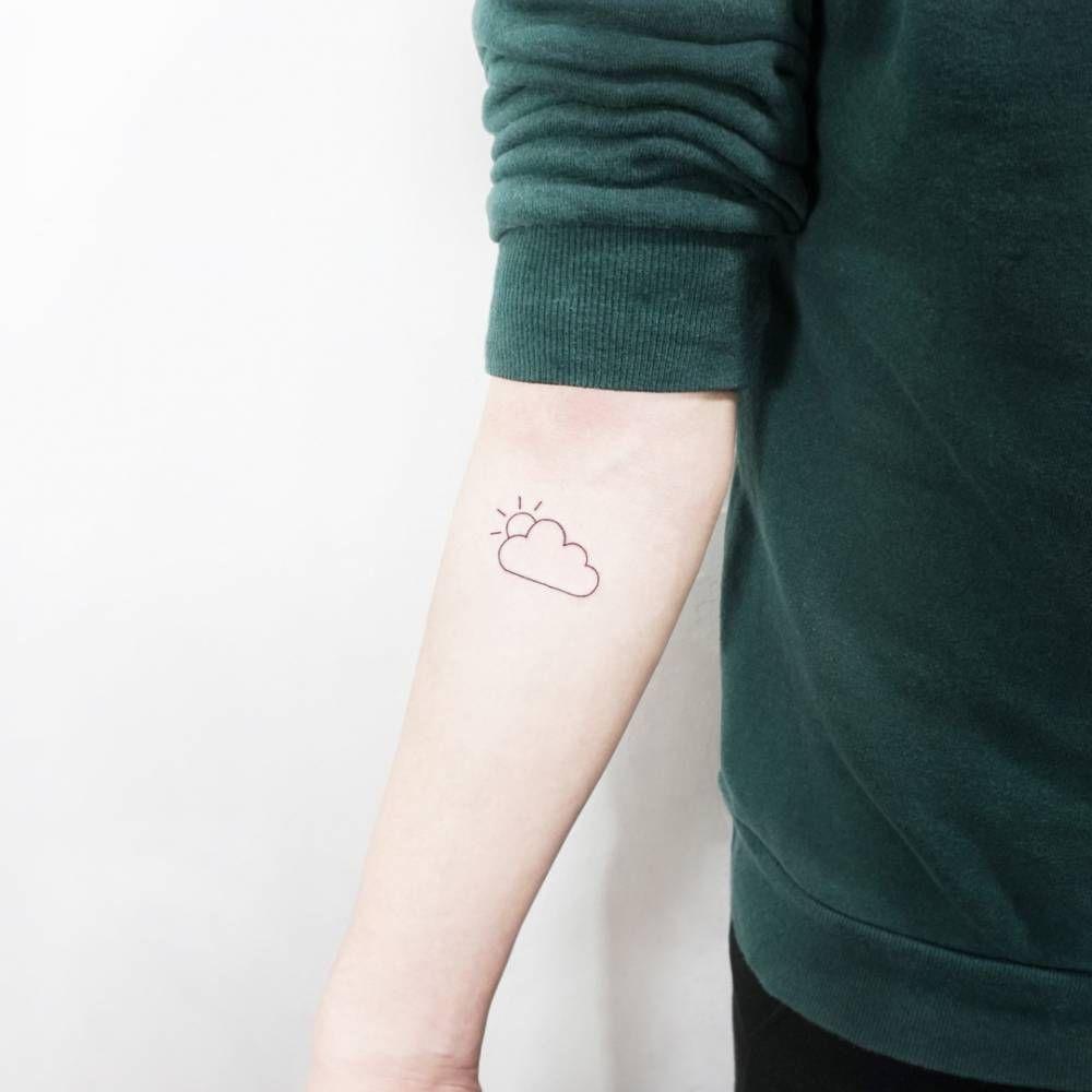 Cloud Tattoos 24