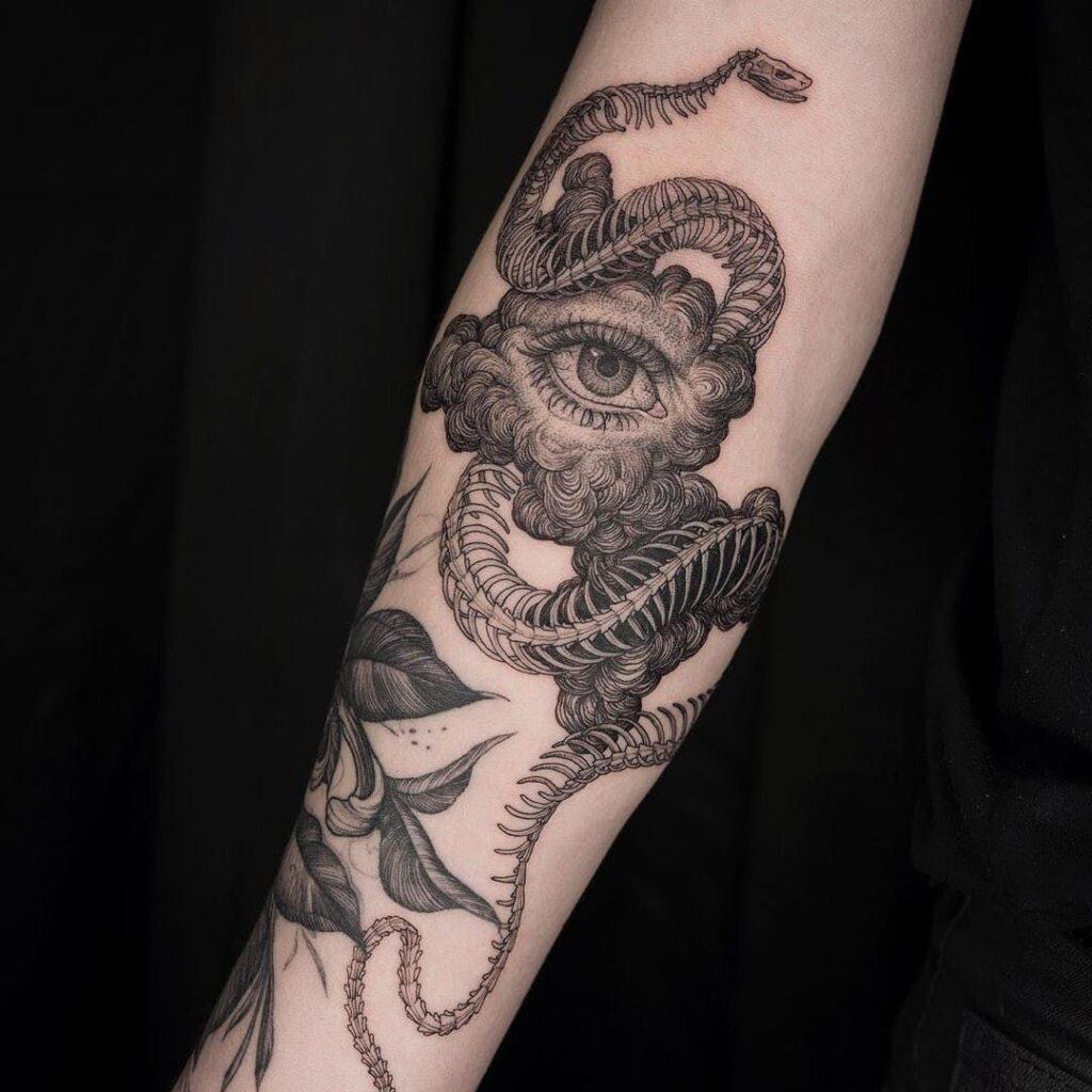 Cloud Tattoos 36