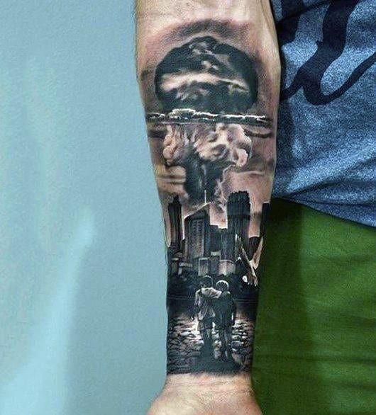 Cloud Tattoos 39