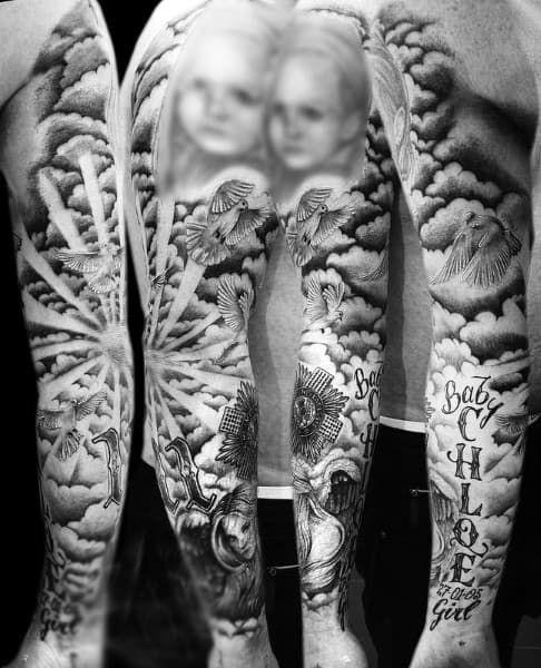 Cloud Tattoos 52
