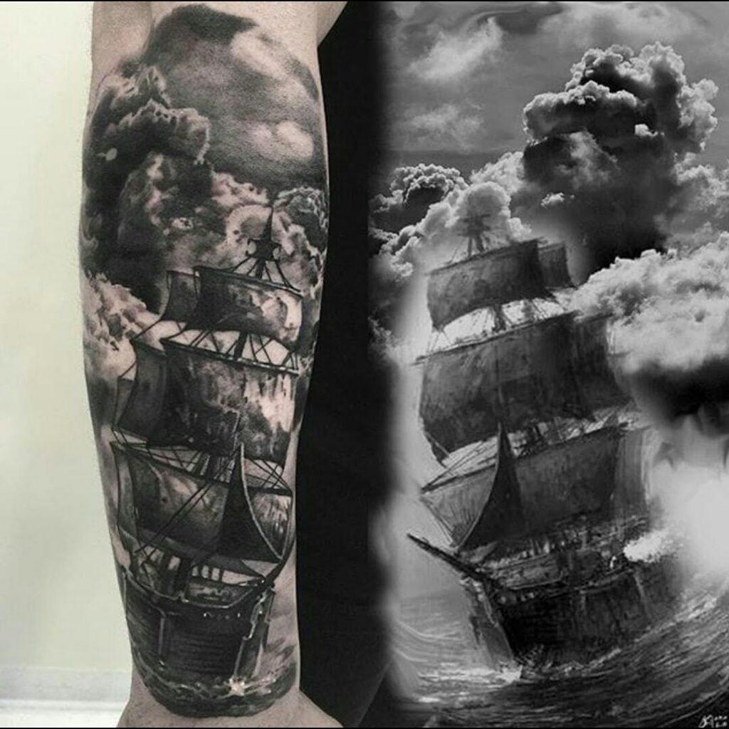 Cloud Tattoos 64