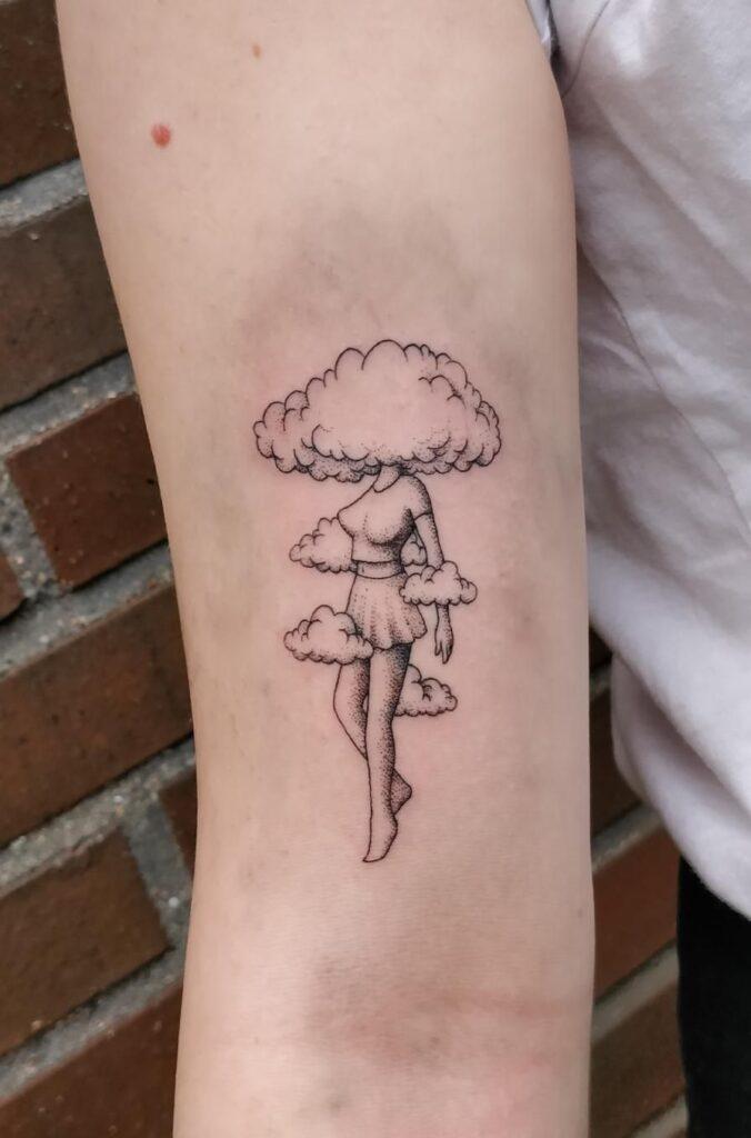 Cloud Tattoos 71