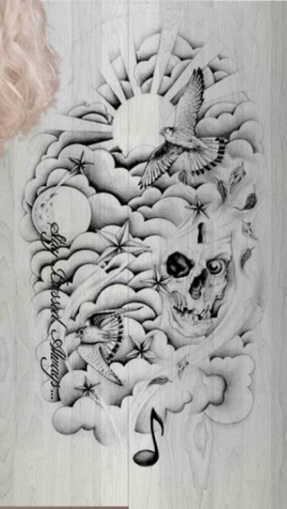 Cloud Tattoos 79