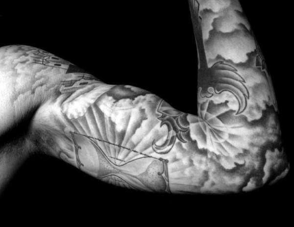 Cloud Tattoos 91