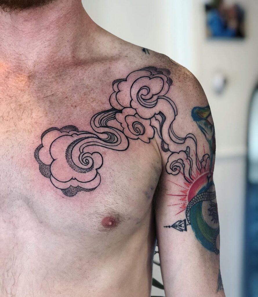 Cloud Tattoos 92