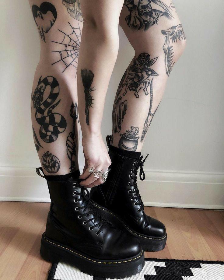 Knee Tattoos 105