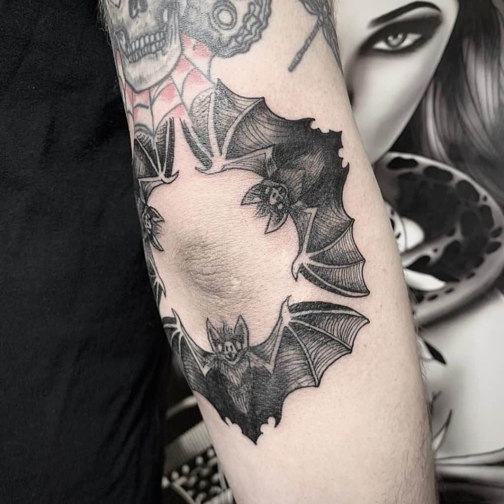 Knee Tattoos 122