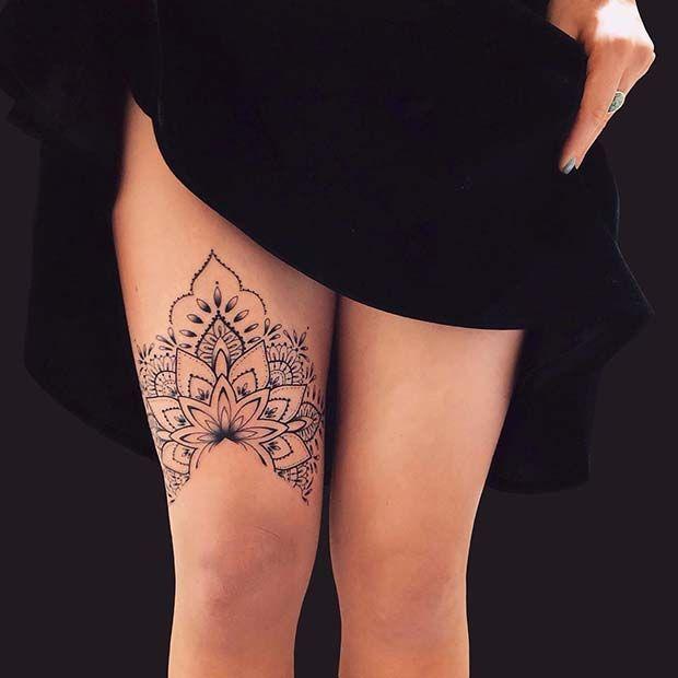Knee Tattoos 129