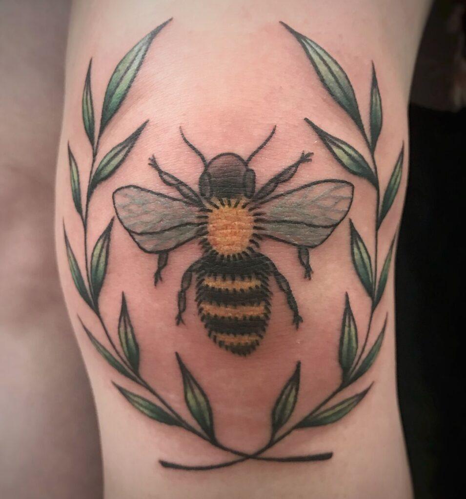 Knee Tattoos 131