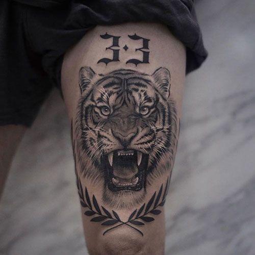 Knee Tattoos 136