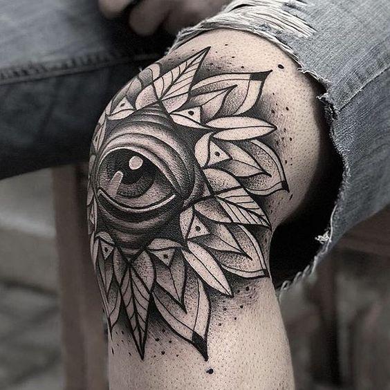 Knee Tattoos 137