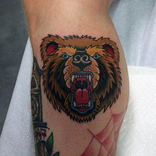 Knee Tattoos 140