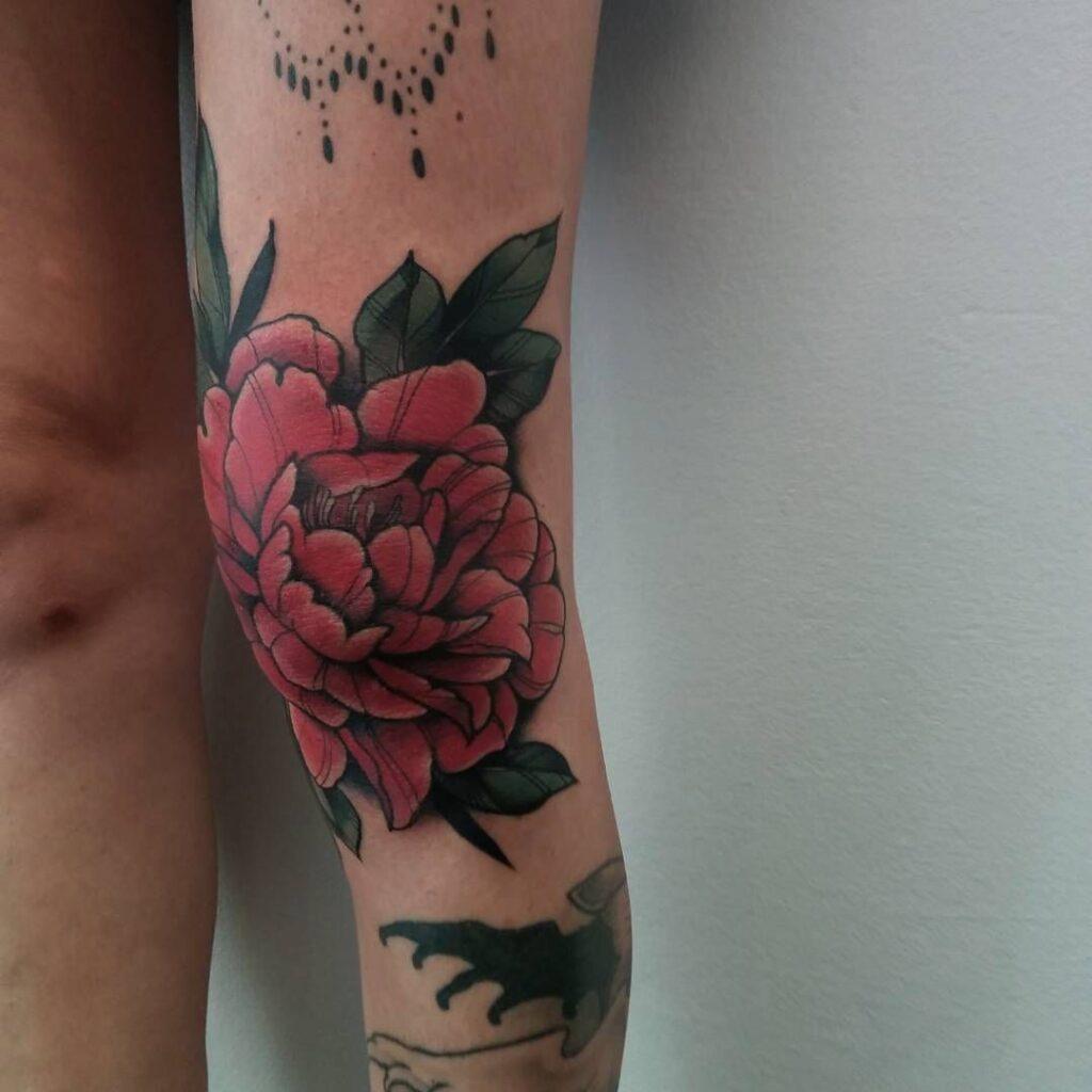 Knee Tattoos 146