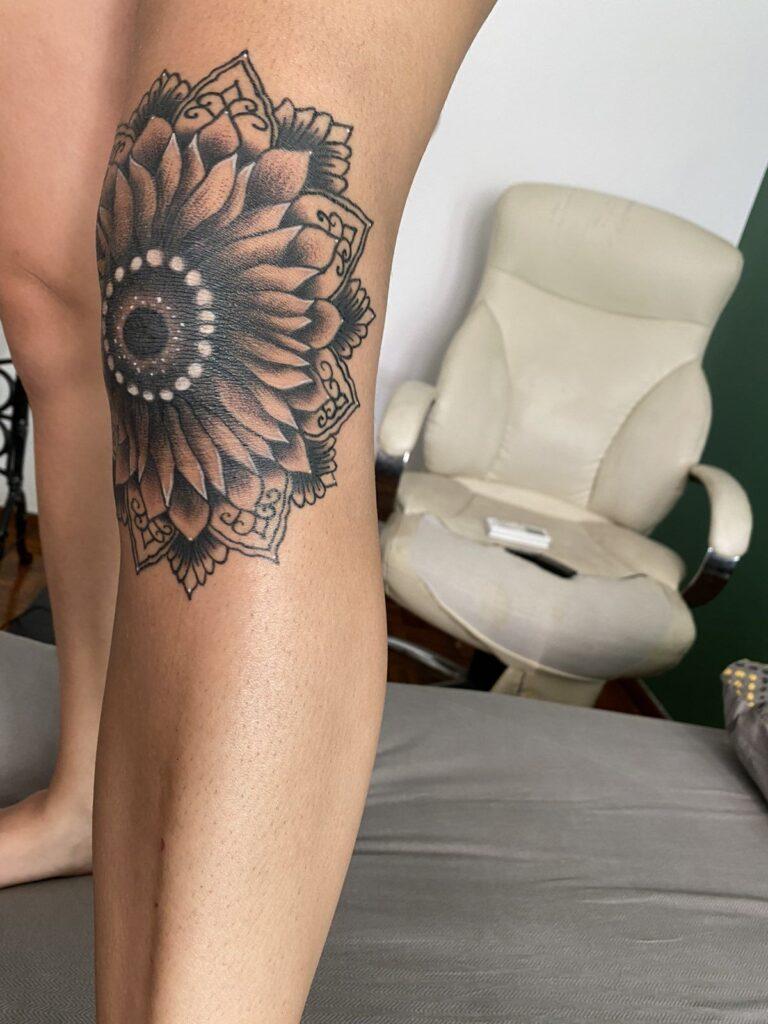Knee Tattoos 149