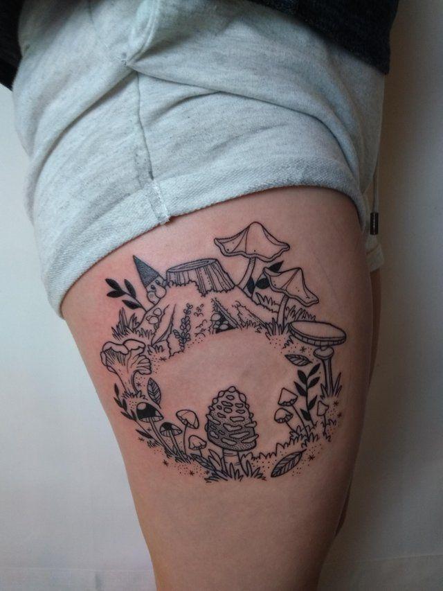 Knee Tattoos 151