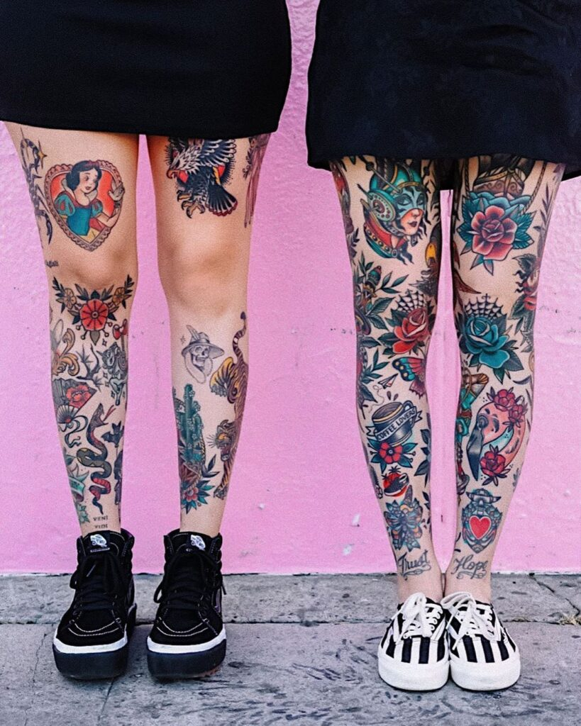 Knee Tattoos 157