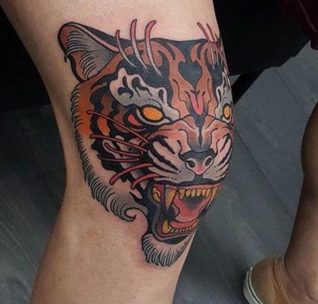 Knee Tattoos 166