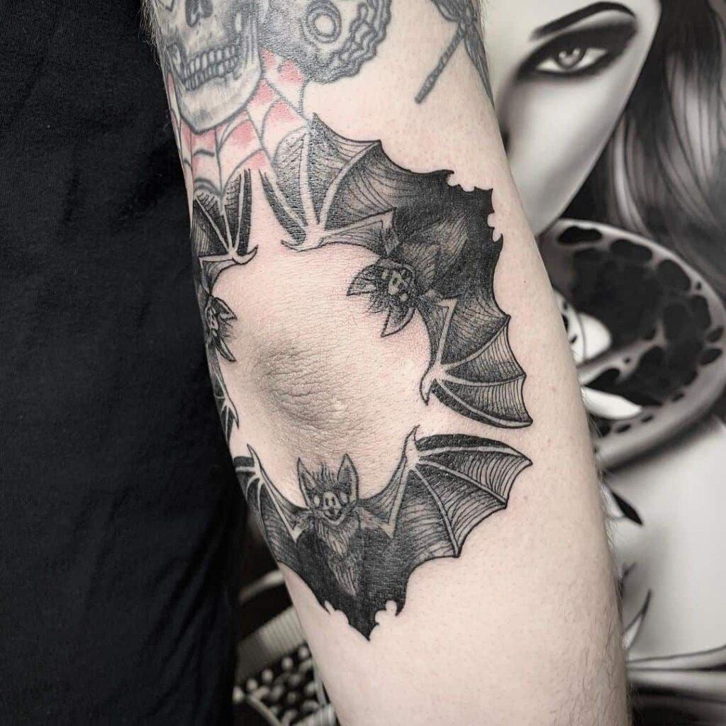 Knee Tattoos 169