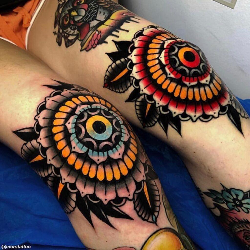 Knee Tattoos 172