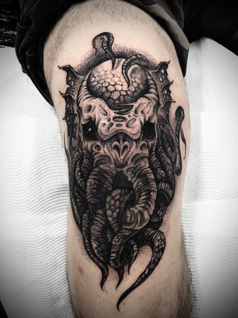 Knee Tattoos 180