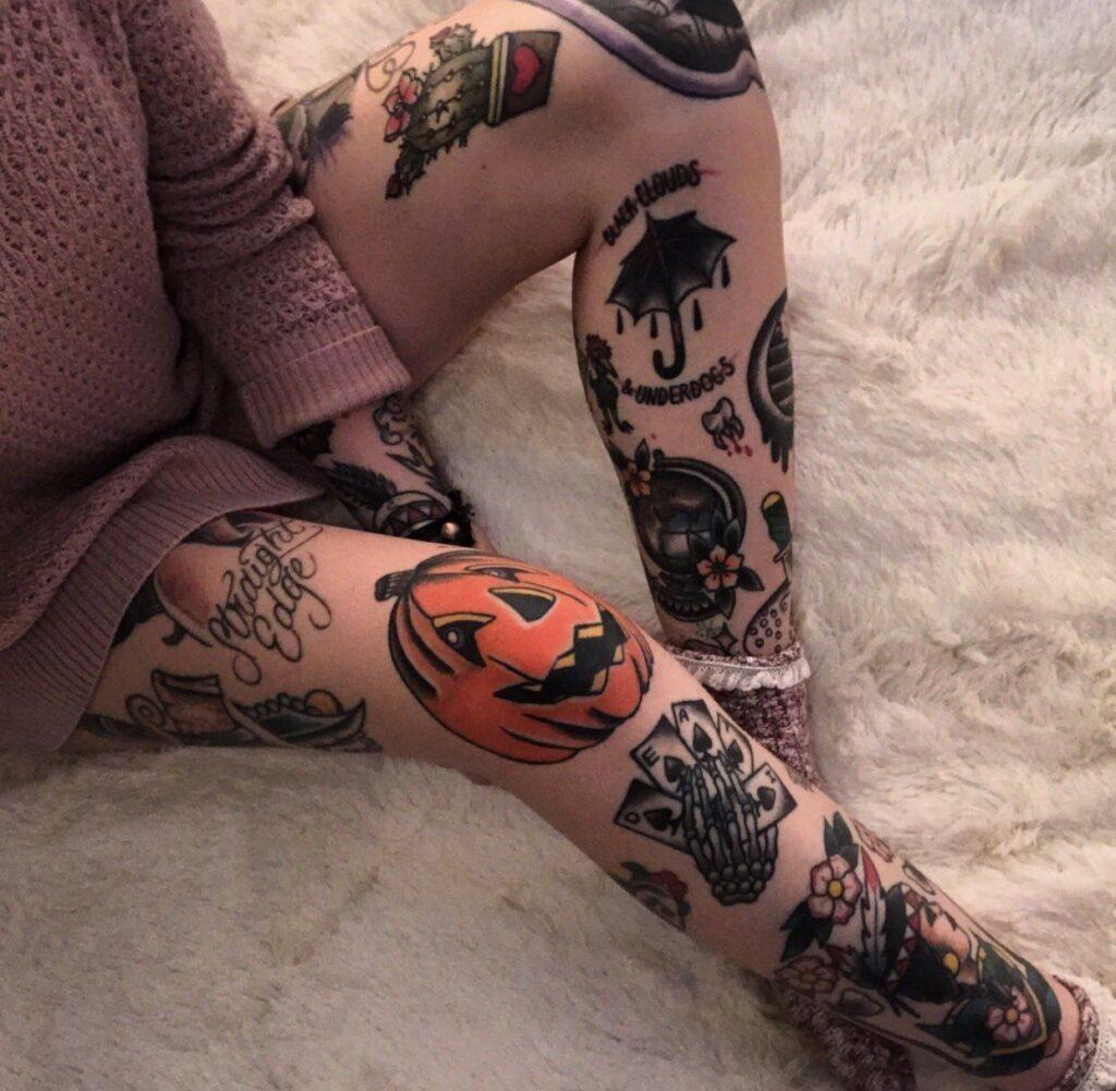 Knee Tattoos 185