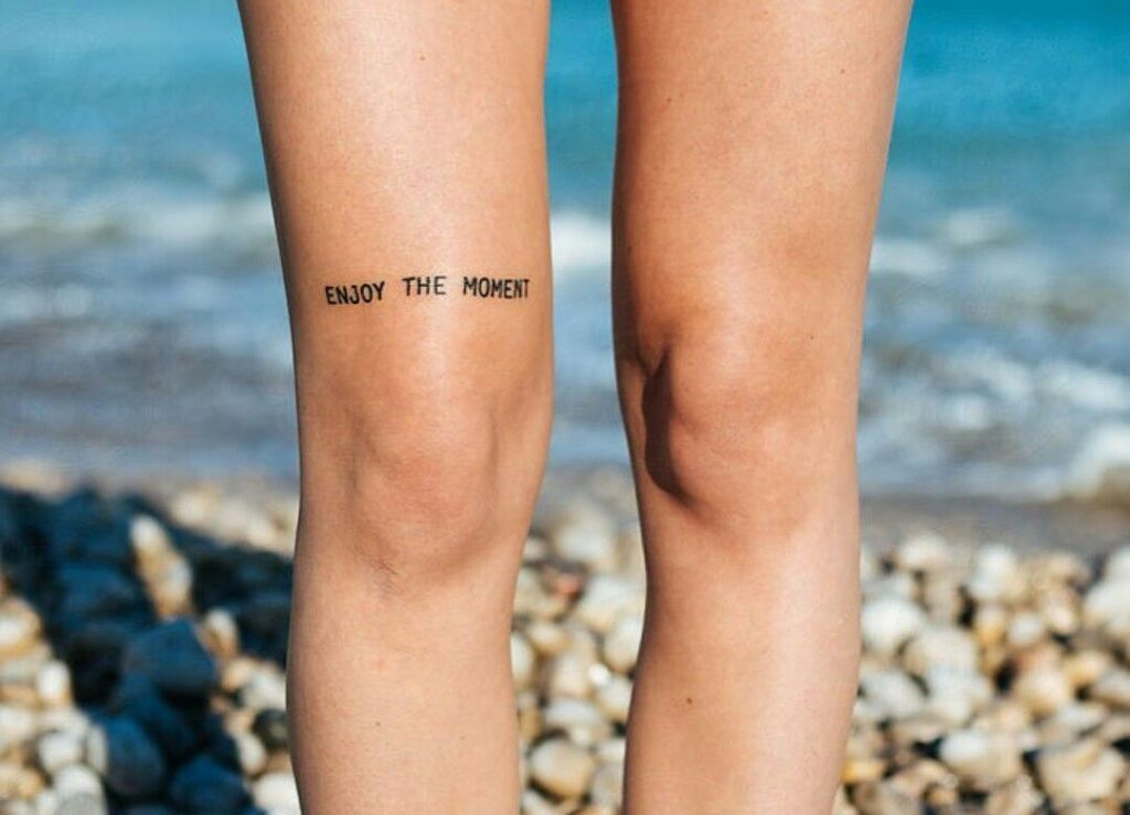 Knee Tattoos 20