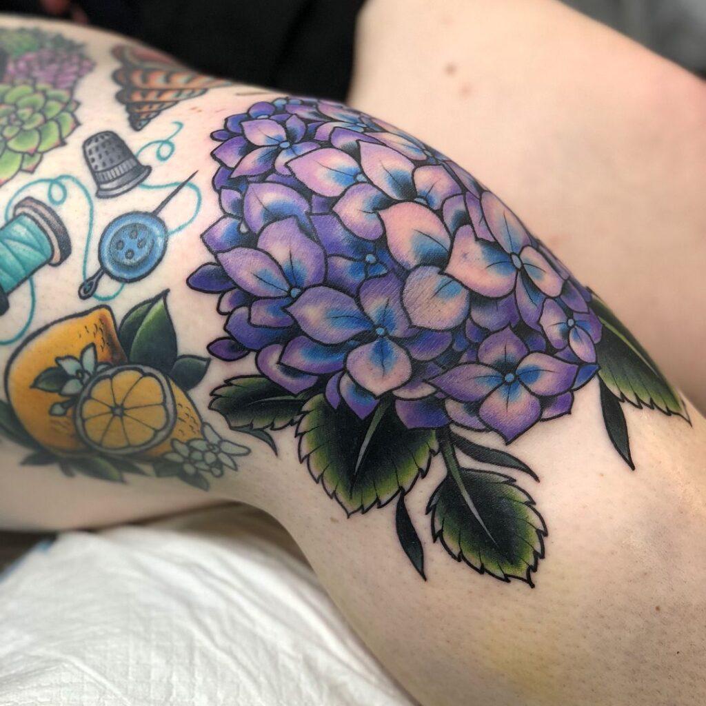 Knee Tattoos 29