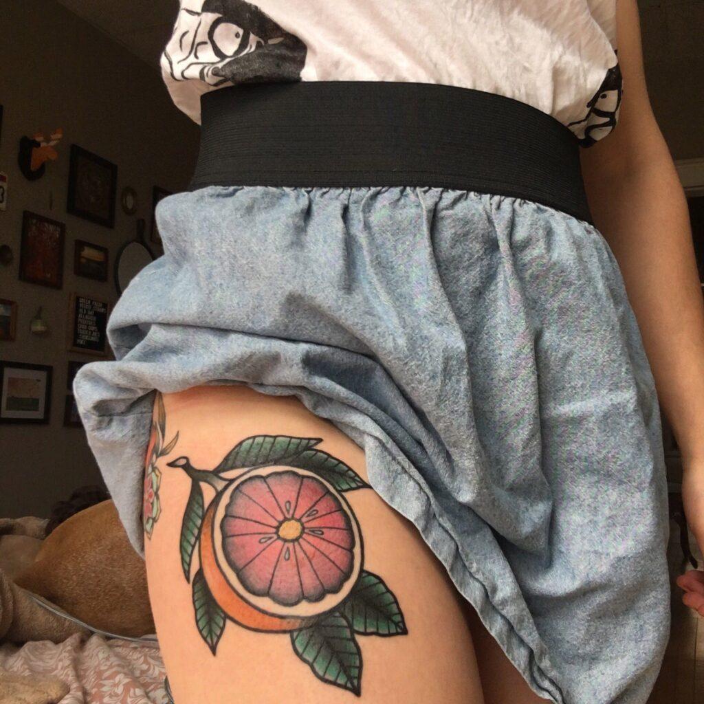 Knee Tattoos 37