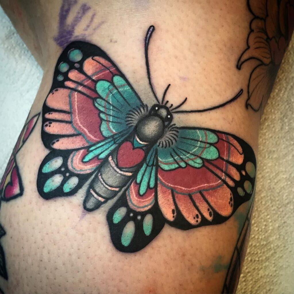 Knee Tattoos 41