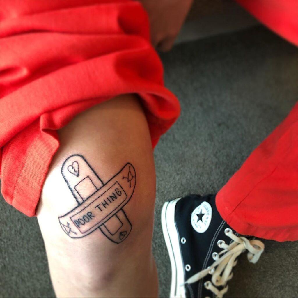 Knee Tattoos 46